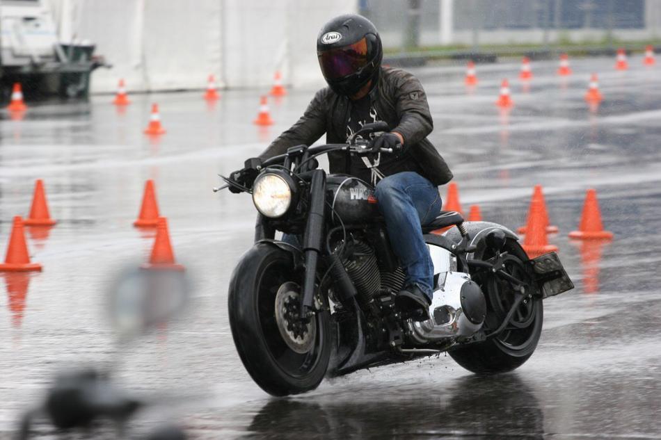 Безопасное вождение мотоцикла
